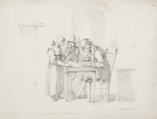 MELI Filippo (b.1795) - 'Segretario de Contadini'.