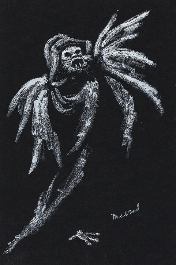 MESSEL Oliver (1904-1978) - Design for 'Twang'.