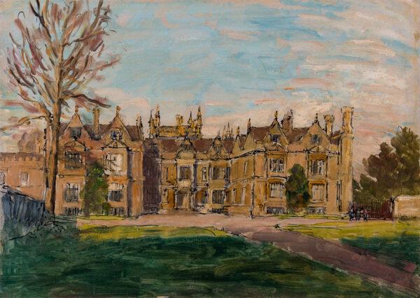 METHUEN (Lord) Paul R.A. (1886-1974) - Corsham Court, Wiltshire.