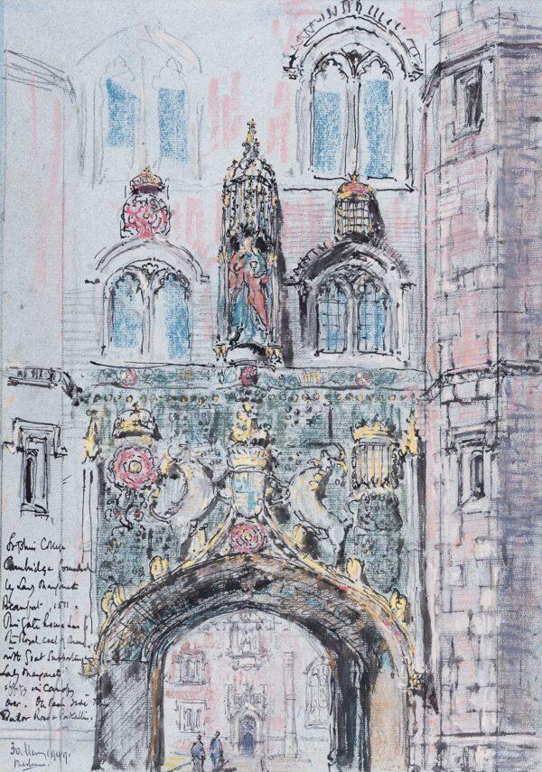 METHUEN Paul R.A. (1886-1974) - 'St John's College, Cambridge'.