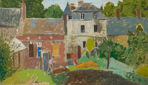MICHONZE Gregoire (1902-1982) - 'The Old House, Ravenel' in the Oise.
