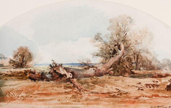 MIDDLETON John (Circle of) (1827-1856) - 'Leigh' Watercolour.