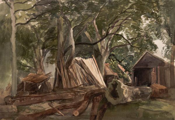 MIDDLETON John (1827-1856) - Woodland clearing.