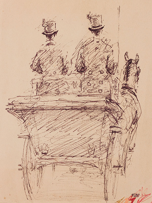 MILLAIS Sir Raoul (1901-1999) - Carriage and Pair.