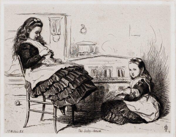 MILLAIS Sir John Everett P.R.A. (1829-1896) - 'The Baby House'.