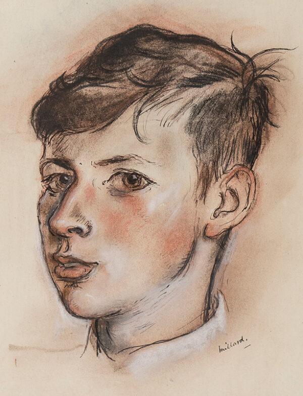 MILLARD Patrick (1902-1977) - 'Edward'.