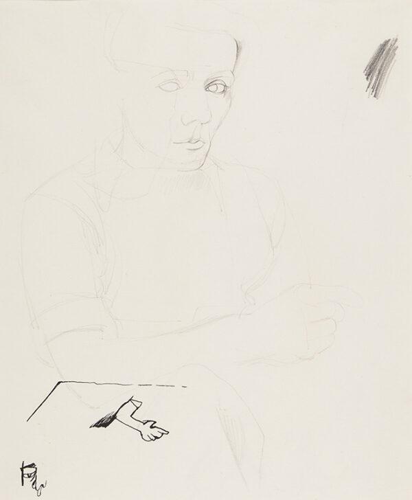 MINTON John (1917-1957) - Study of a Man.