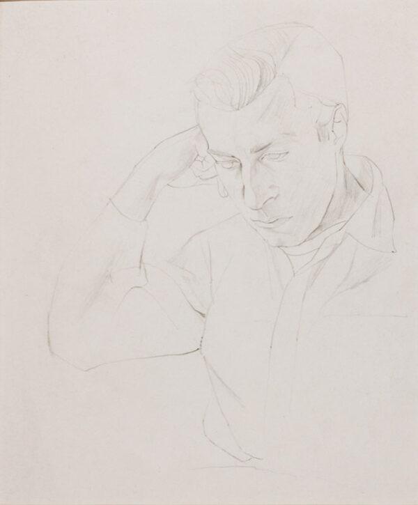 MINTON John R.B.A. L.G. (1917-1957) - Pensive man.