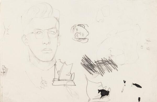 MINTON John (1917-1957) - Boys head, and other studies.