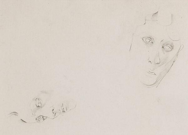 MINTON John R.B.A. L.G. (1917-1957) - Studies of Heads.