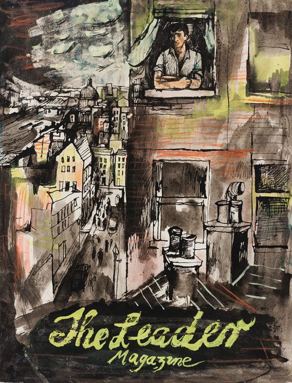 MINTON John (1917-1957) - Cover design for The Leader Magazine.