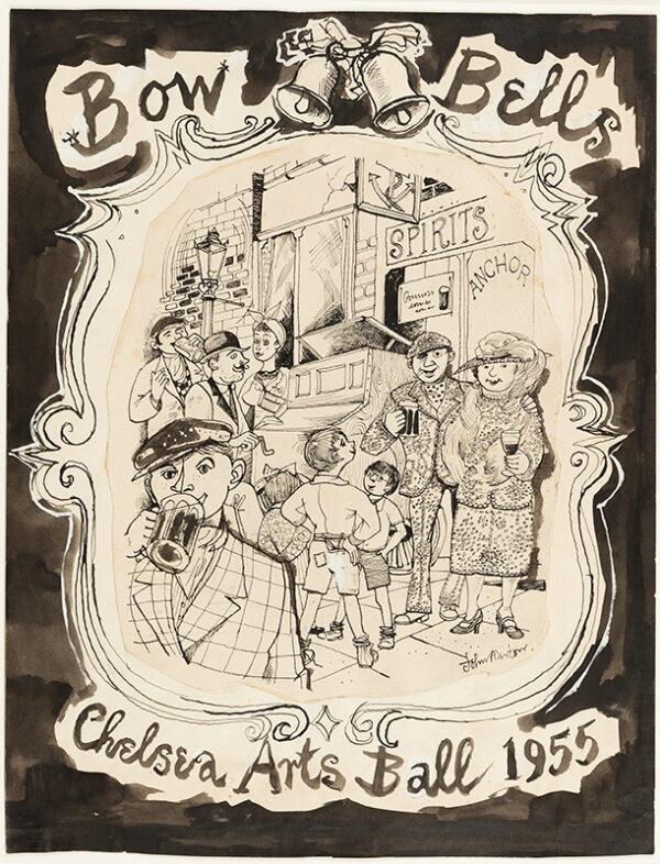 MINTON John (1917-1957) - 'Bow Bells'.