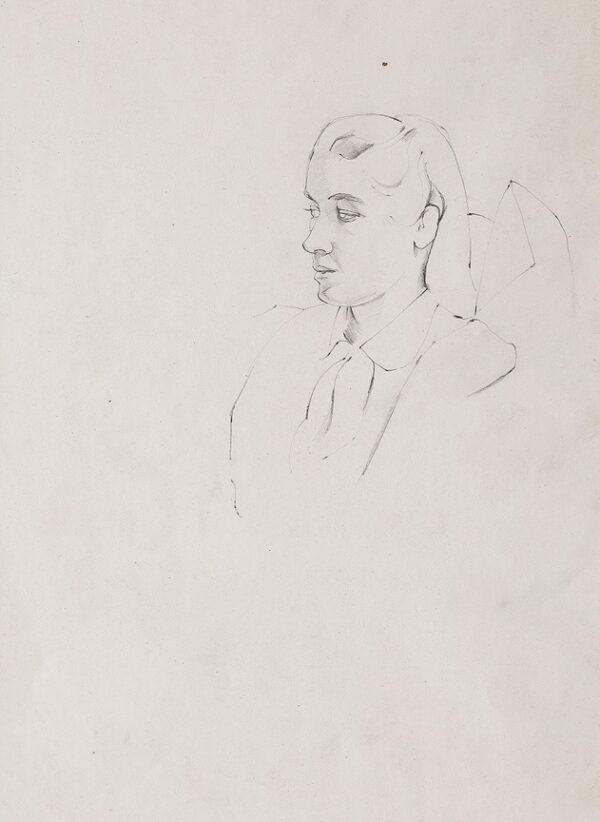 MINTON John (1817-1957) - A proud girl.