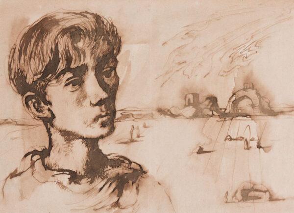MINTON John R.B.A. L.G. (1917-1957) - '… the sort of drawing I always do …'.