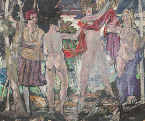 MOIRA Gerald P.R.I. V.P.R.W.S. N.P.S. (1867-1959) - 'The Bathers'.