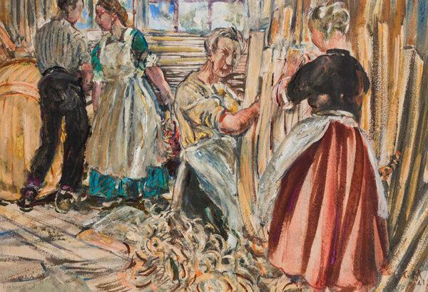 MOIRA Gerald P.R.I. (1867-1959) - 'The Comfort of Gospel'.