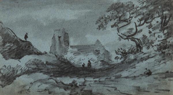 MONRO Dr Thomas (1759-1833) - Church and Lane.