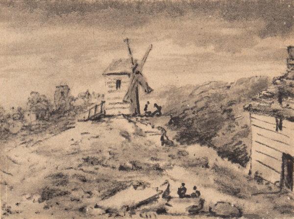 MONRO Dr Thomas (1759-1830) - Windmill.