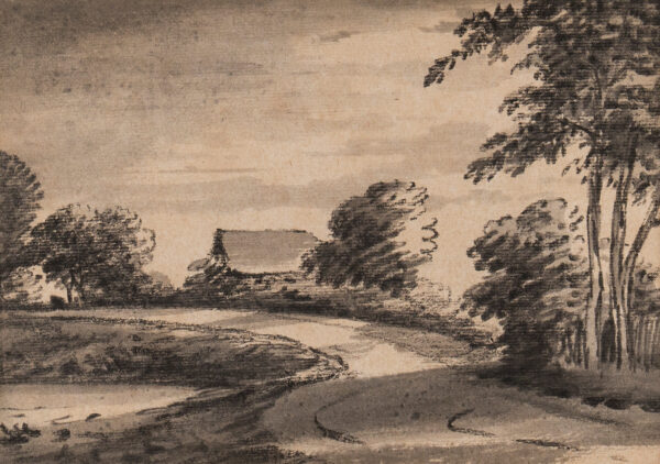 MONRO Dr Thomas (1759-1833) - Cottage and track.