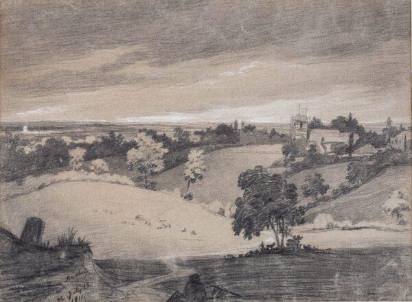 MONRO Dr Thomas (1759-1833) (Family/Circle of) - 'Bushey', Hertfordshire.