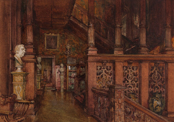 MONTAGU WYATT Kate (fl.1900s) - London, Kensington: 'Holland House'.