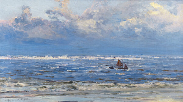 MOORE Henry RA (1831-1895) - 'Lowestoft'.