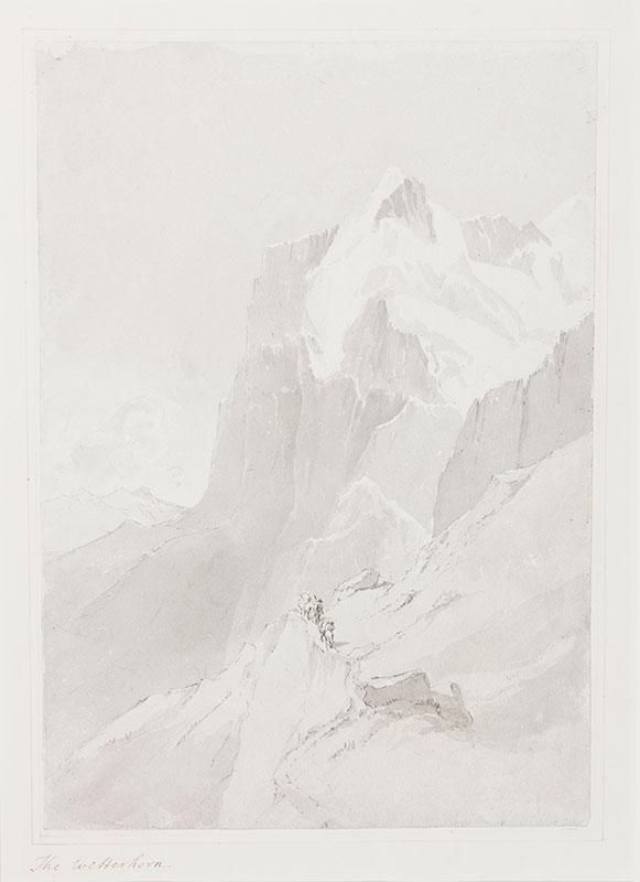 MORDAUNT Lady (Marianne) (nee Holbech) (c.1778-1842) - 'The Wetterhorn', Switzerland.