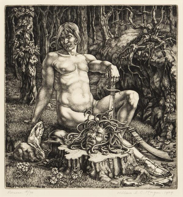 MORGAN William E.C. (1903-1979) - 'Perseus'.