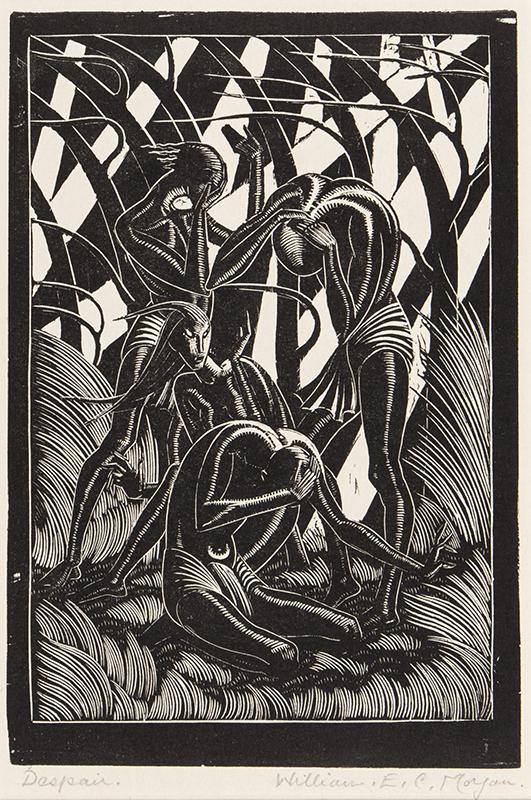 MORGAN William E.C. (1903-1979) - 'Despair'.