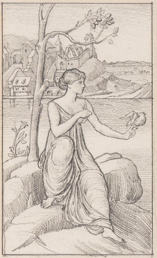 MORGAN William de (1839-1917) - The Dove.