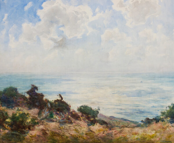 MORLEY Thomas William (1883-1931) - 'East Hill, Hastings - early morning'.
