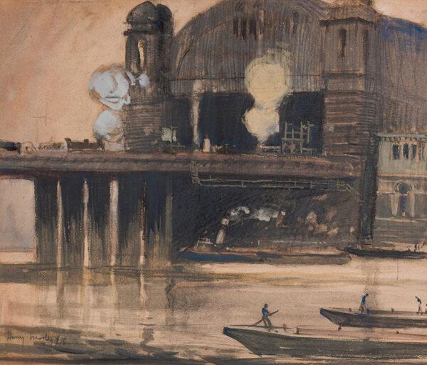 MORLEY Harry A.R.A. R.W.S. (1881-1943) - London.