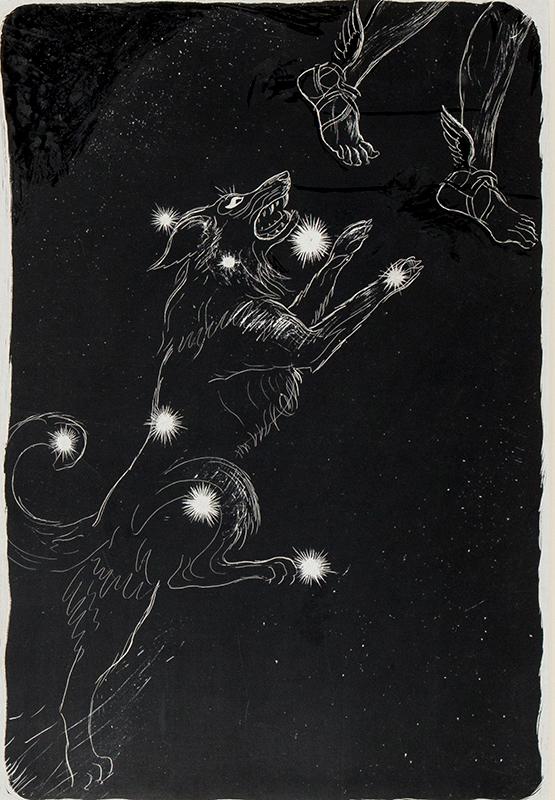 MORTON-SALE John (1901-1990) - 'Dog Star – Sirius'.