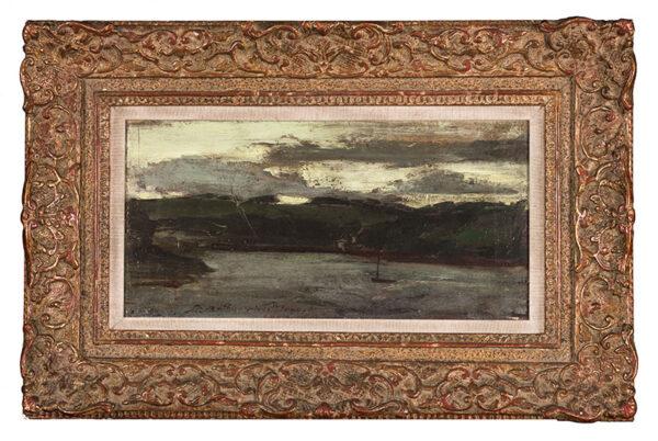 MOYNIHAN Rodrigo R.A. (1910-1990) - Stormy Estuary.