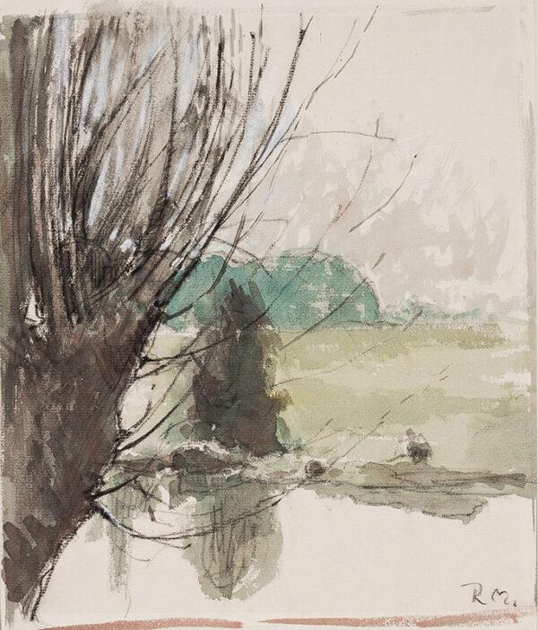 MOYNIHAN Rodrigo R.A. (1910-1990) - 'Willows'.