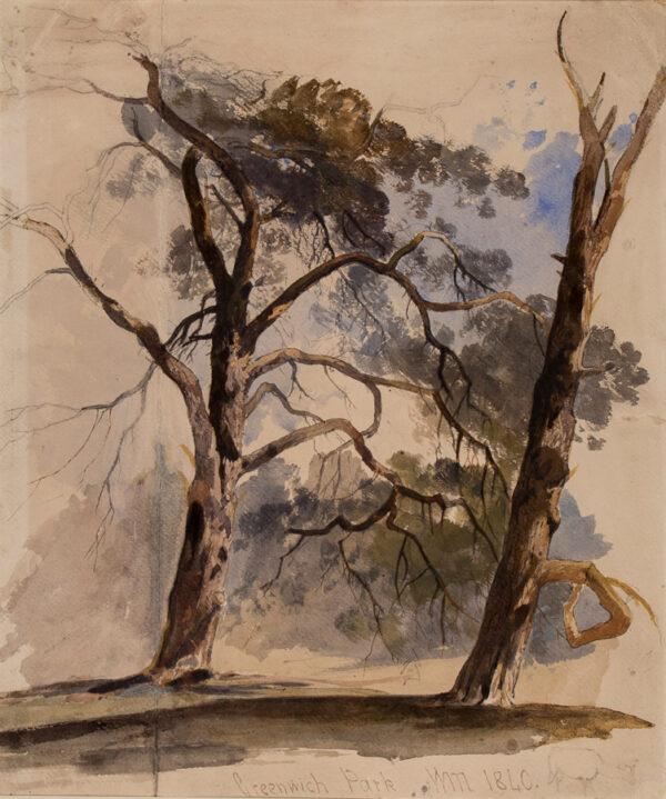MULLER William James (1812-1845) - 'Greenwich Park'.