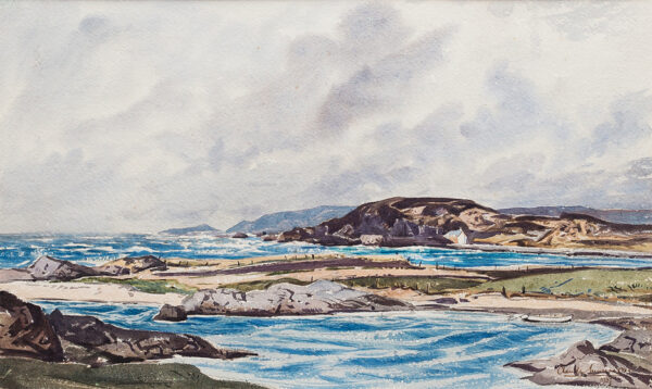MUNCASTER Claude R.W.S. S.M.A. (1903-1974) - 'Breezy day on the west coast of Scotland'.