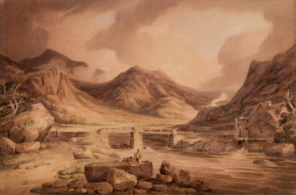 MUNN Paul Sandby (1773-1845) - Cumberland.