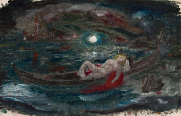 MURRAY Charles (1894-1954) - 'The Gondola'.
