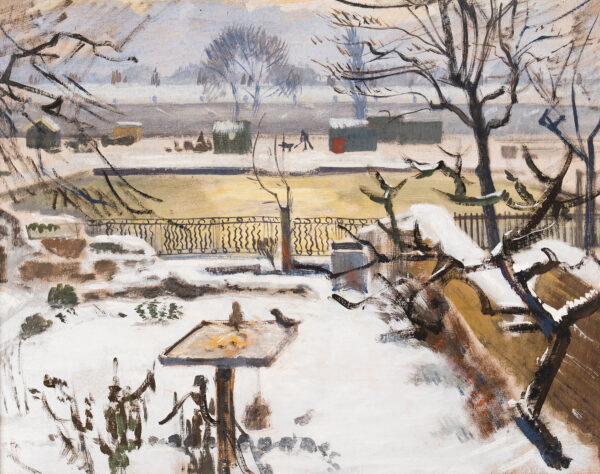 MURRY Richard N.E.A.C. (1902-1984) - Winter Garden.