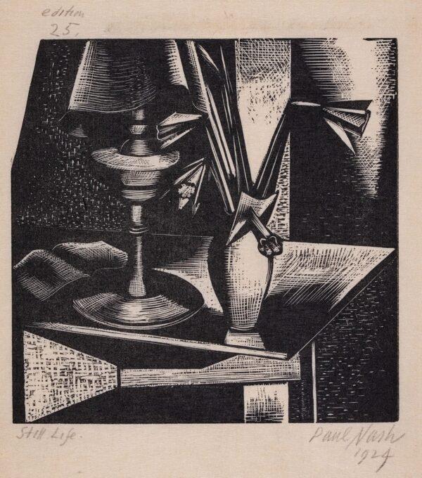 NASH Paul R.A. (1989-1946) - 'Still Life'.