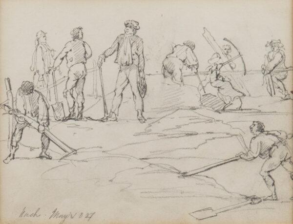 NASH Joseph (1809-1878) - Labourers at work.