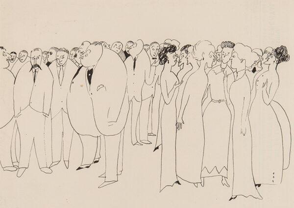 NASH John R.A. (1893-1977) - 'A World of Men and Women'.