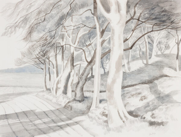 NASH John R.A. C.B.E (1893-1977) - 'Beechwood, Norfolk'.