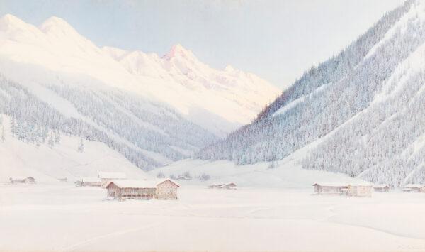 NELSON George (1864-1921) - Davos, Switzerland.