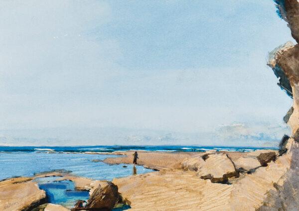NEWBERRY John R.W.S. (b.1934) - Kenya: Watamu Beach.