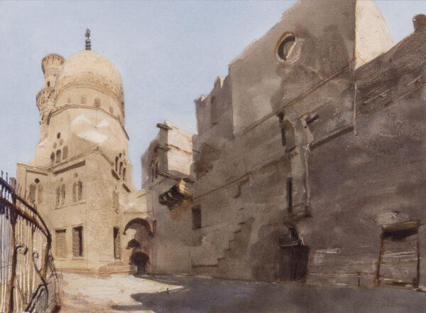 NEWBERRY John R.W.S. (b.1934) - 'Cairo'.