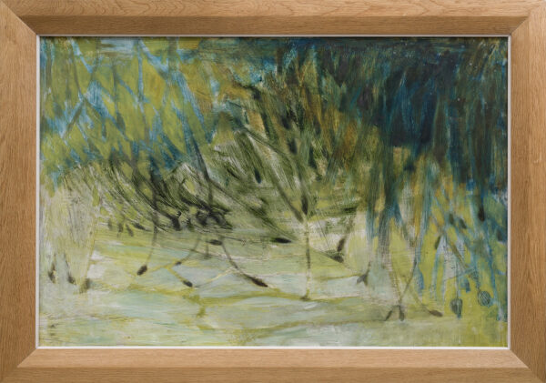 NEWCOMB Mary (1922-2008) - Grasses in the wind.