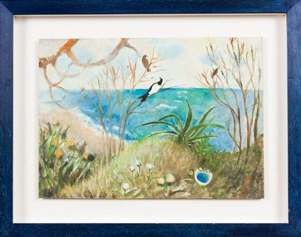 NEWCOMB Tessa (b.1955) - Above the Sea.