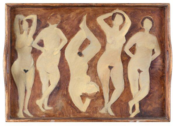 NEWCOMB Tessa (b.1955) - Frieze of Nudes.